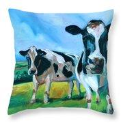 Holstein Amoogos Throw Pillow