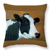 Holstein Throw Pillow