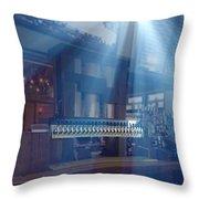 Holy Beer Taps Batman Throw Pillow