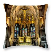 Holy Cross Throw Pillow