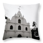 Ethereal Cochin Throw Pillow