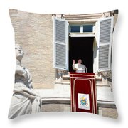 Holy Father Throw Pillow