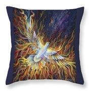 Holy Fire Throw Pillow