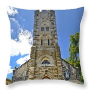 Holy Ghost Lutheran Church Throw Pillow