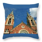Holy Hill 1  Throw Pillow