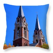 Holy Hill Throw Pillow
