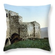 Holy Land: Ruins Throw Pillow