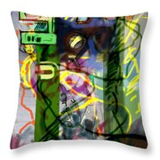 Holy Letters 2c Throw Pillow