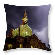 Holy Redeemer Throw Pillow