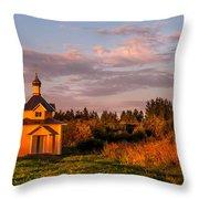 Holy Source. Karelia Throw Pillow