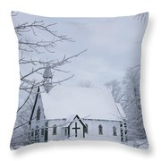 Holy Trinity Anglican Church And Throw Pillow