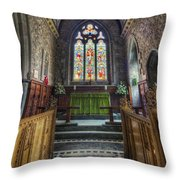 Holy Trinity Church Vertotama Throw Pillow