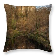 Holy Trinity Reflections Throw Pillow