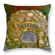 Holy Well Throw Pillow