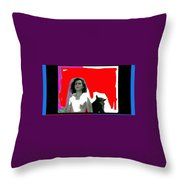 Homage Hedy Lamarr Nude Extasy 1932 Screen Capture Collage 1932-2012 Throw Pillow