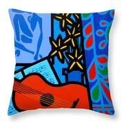 Homage To Matisse I  Throw Pillow