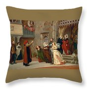 Home After Victory Throw Pillow