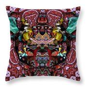 Home Coming Throw Pillow