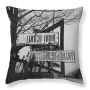 Home Cooking  Throw Pillow