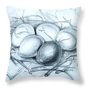 Home - Existence Throw Pillow