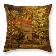Home For Thanksgiving Throw Pillow