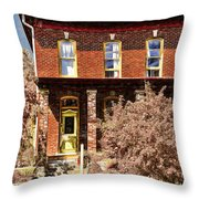 Home For The Fall  Throw Pillow