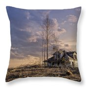 Home Forgotten Throw Pillow