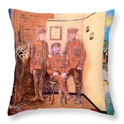 Home Front Room Throw Pillow