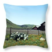 Home Home On The Range Throw Pillow