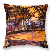 Home In Christiansburg Throw Pillow