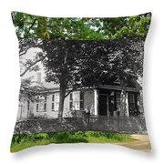 Home In Little Compton Rhode Island Throw Pillow