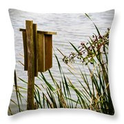 Home Is Throw Pillow