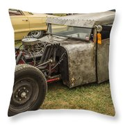 Home Made Muscle Throw Pillow