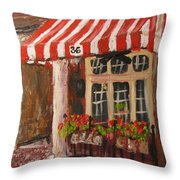 Home Of Annelle's Jack Daniel's Chocolate Pecan Pie Throw Pillow
