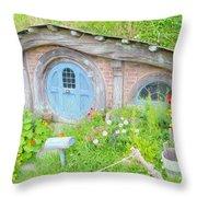 Home Of Hobbiton 1 Throw Pillow