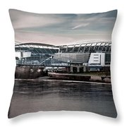 Home Of The Bengals Throw Pillow