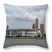 Home Of The Browns Throw Pillow