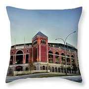 Home Of The Texas Rangers Throw Pillow