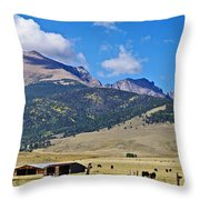 Home On The Range - A Westcliffe Ranch Throw Pillow