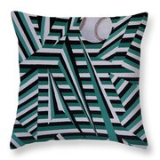 Home Run Throw Pillow
