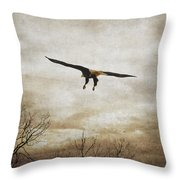 Home Safely Throw Pillow