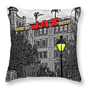 Home Sweet Home Monochrome Throw Pillow