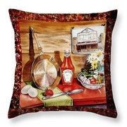 Home Sweet Home Welcoming Five Throw Pillow