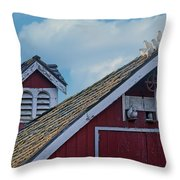 Home To Roost Throw Pillow