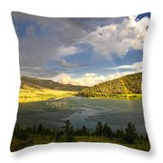 Homeground Rainbow Landscape Throw Pillow