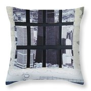 Homeland Security Phase 2 The Face Of Terror Throw Pillow