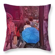 Homeless And Invisible  Throw Pillow