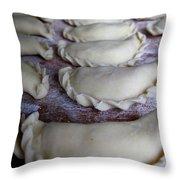 Homemade Lithuanian Dumplings Throw Pillow
