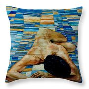 Homenaje A Paul Klee Throw Pillow