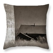 Homestead On The Hill Throw Pillow